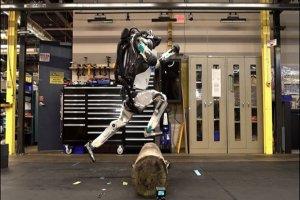 Dünyanın en atletik robotu